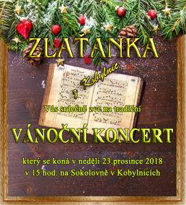 Vánoční pozvánka 2018